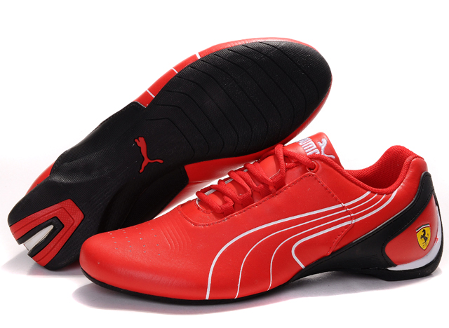Puma Drift Cat iii Shoes Red/White/Black