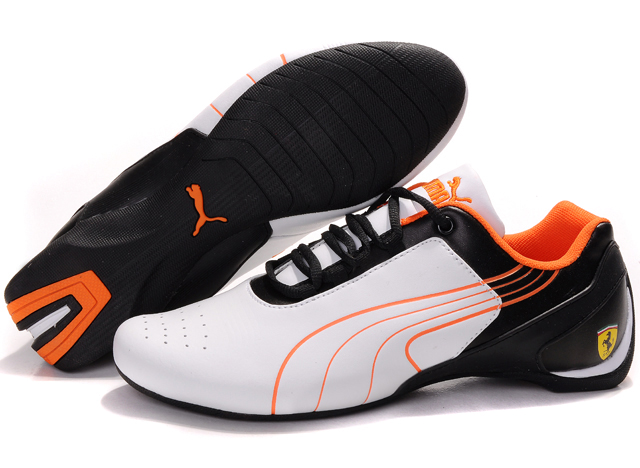 Puma Drift Cat iii Shoes White/Black/Orange