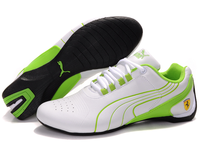 Women's Puma Drift Cat iii Shoes White/Green