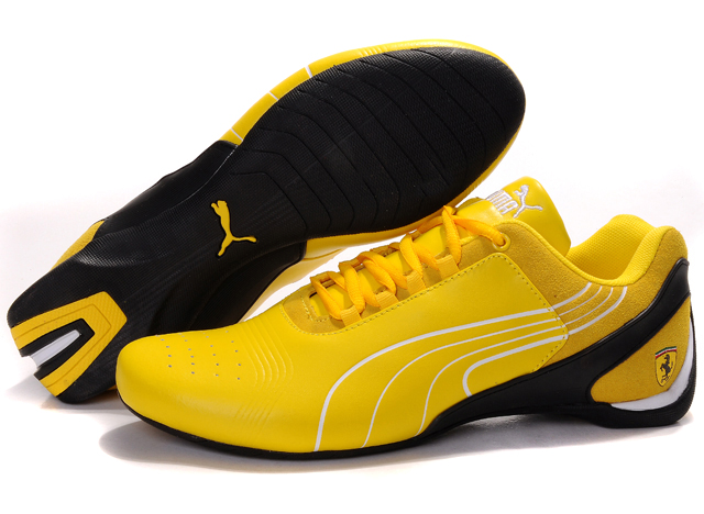 Men's Puma Drift Cat iii Shoes Yellow/Black