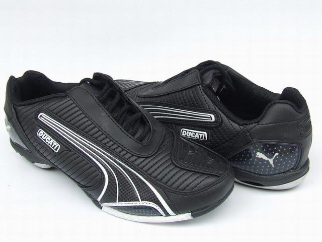 Puma Ducati Testastretta Shoes Black/White