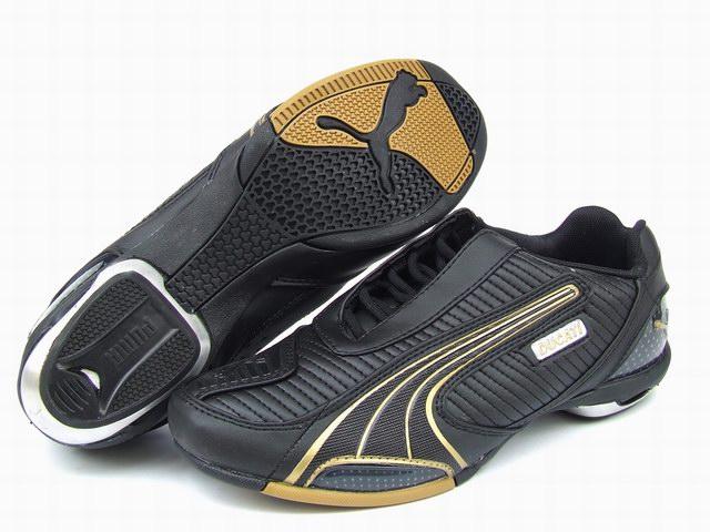 Puma Ducati Testastretta Shoes Black/Gold