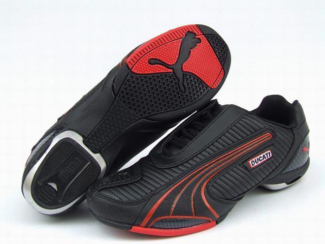 Puma Ducati Testastretta Shoes Black/Red
