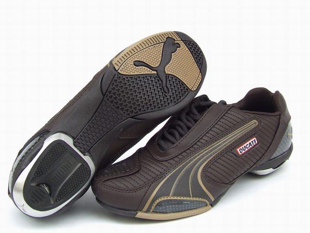 Puma Ducati Testastretta Shoes Brown/Tan