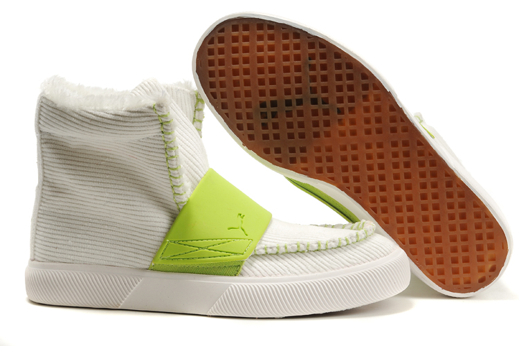 Puma El Roo Shoes White/Green