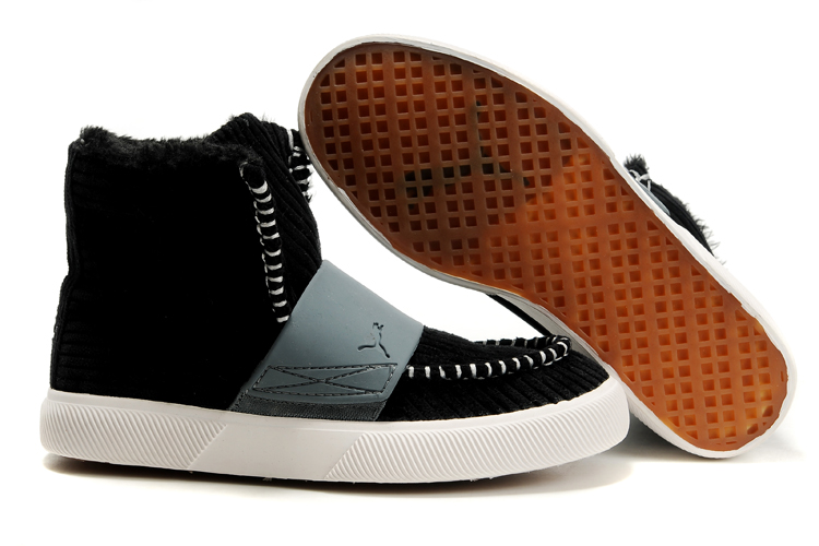 Puma El Roo Shoes Black/White