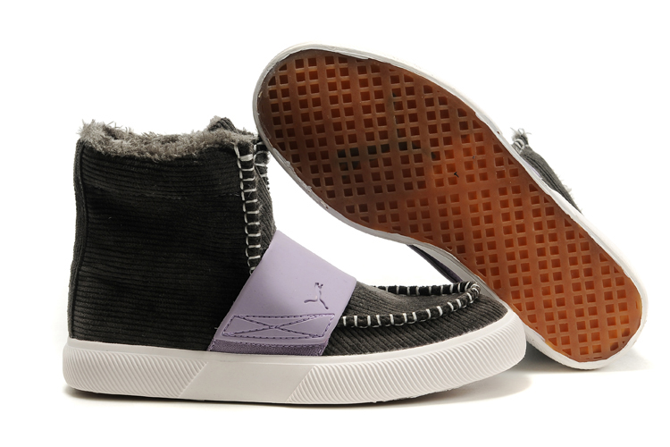 Puma El Roo Shoes Grey/Purple