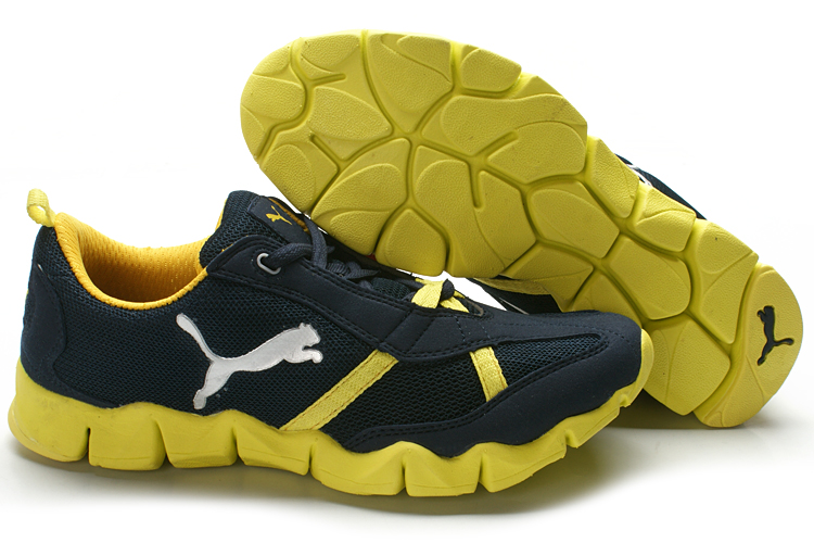 Puma Elye Running Shoes Royalblue/Yellow