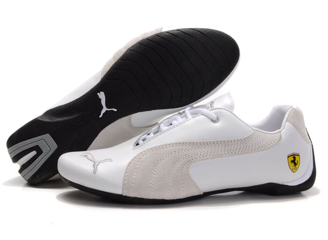Puma Engine Cat Low Shoes White/Grey