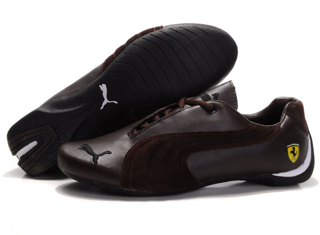 Puma Engine Cat Low Shoes Brown
