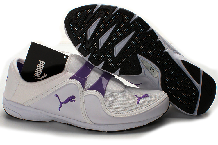 Puma Esito Casual Shoes Beige/Purple