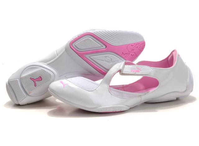 Puma Espera Flat White Pink