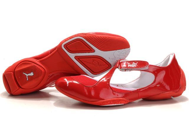 Puma Espera Flat Red White