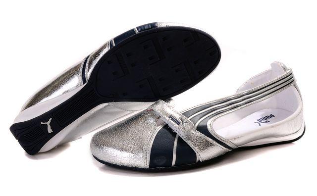 Puma Espera Patent FS Silver/Navy