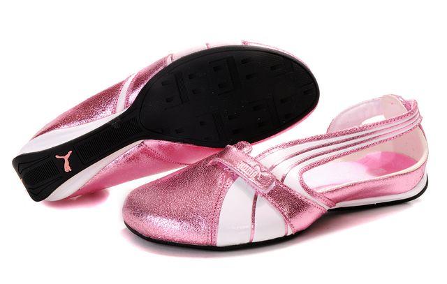 Puma Espera Patent FS Silver Pink/White