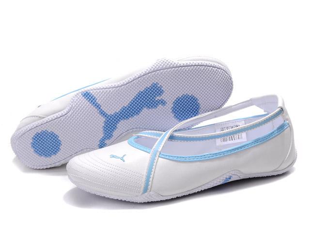 Puma Espera iii Dazzle Trainers White/Blue