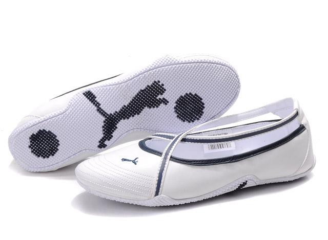 Puma Espera iii Dazzle Trainers White/Beige/Grey