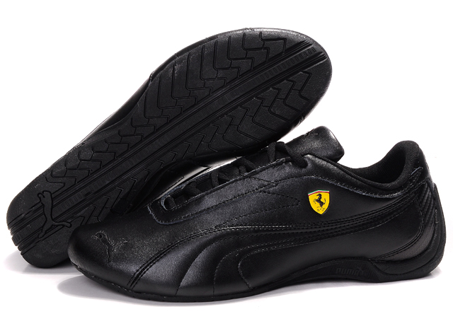 Puma Ferrari Athletic Shoes Black