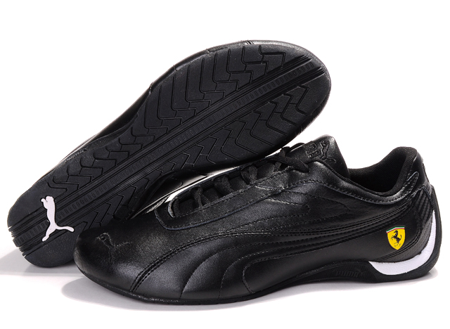 Puma Ferrari Athletic Shoes Black/White 01
