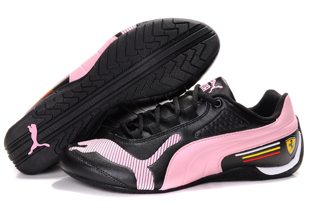 Puma Ferrari Edition Shoes Black/Pink