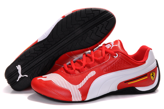 Puma Ferrari Edition Shoes Red/White