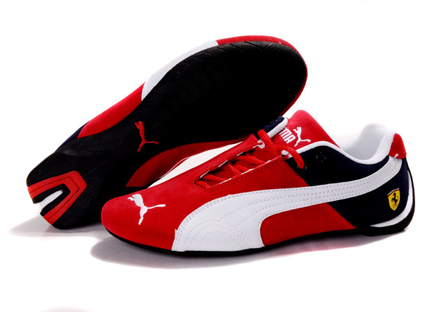 Puma Ferrari Fluxion II shoes Red/Black/White