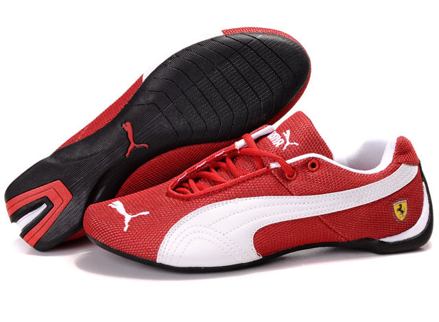 Men's Puma Ferrari Footwear Red/White