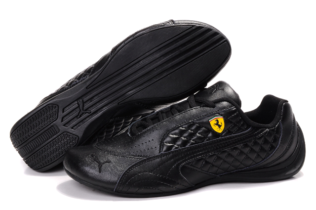 Puma Ferrari Induction Sneakers Black
