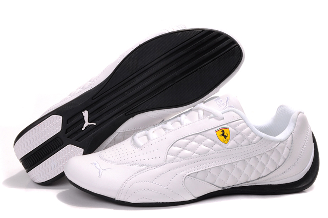 Women's Puma Ferrari Induction Sneakers White