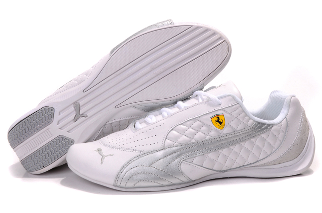 Puma Ferrari Induction Sneakers White/Silver