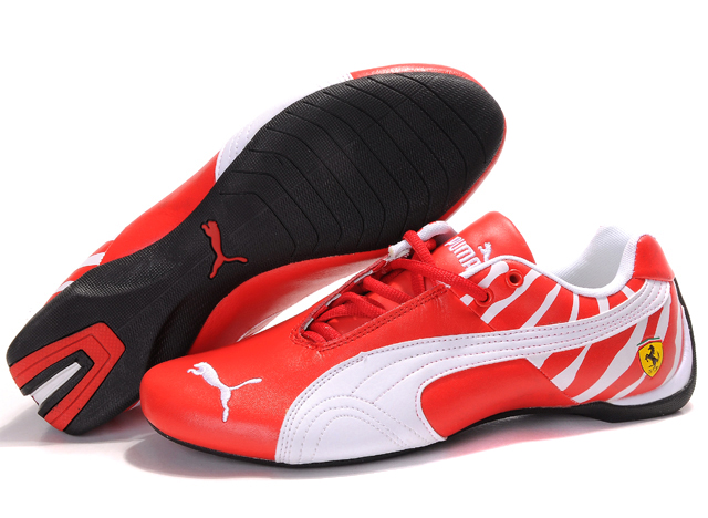 Men's Puma Ferrari Inflection Shoes Red/White