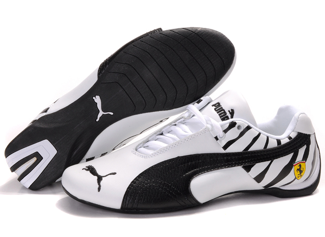 Men's Puma Ferrari Inflection Shoes White/Black
