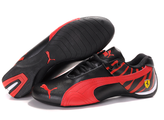 Men's Puma Ferrari Inflection Shoes Black/Red