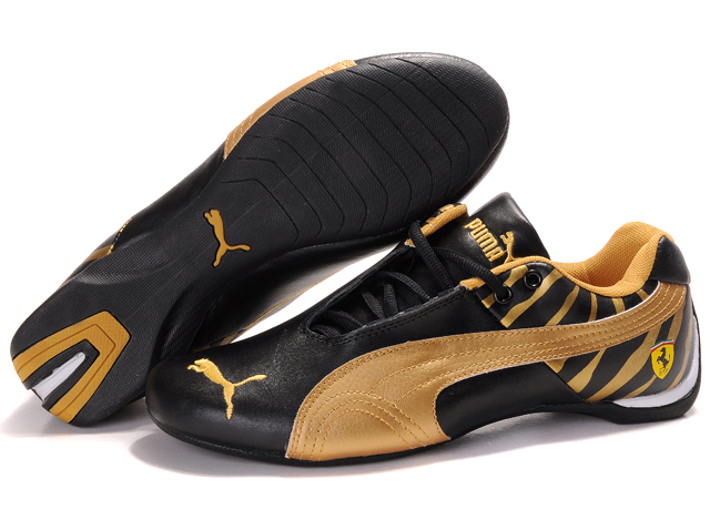 Puma Ferrari Inflection Shoes Black/Gold