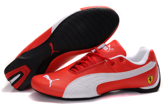 Women's Puma Ferrari Inflection Sneakers Red/White