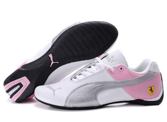 Puma Ferrari Inflection Sneakers White/Silver/Pink
