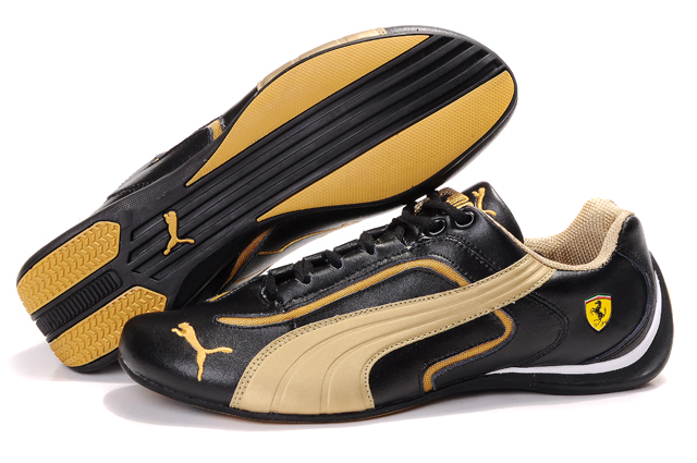 Puma Ferrari Pace Cat II Black/Gold