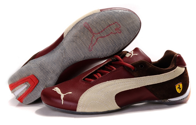 Puma Ferrari Purlish Shoes Champagne/Beige