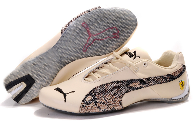 Puma Ferrari Purlish Shoes Beige/Brown/Grey