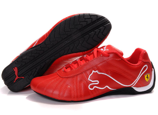 Puma Ferrari Shoes Red/White