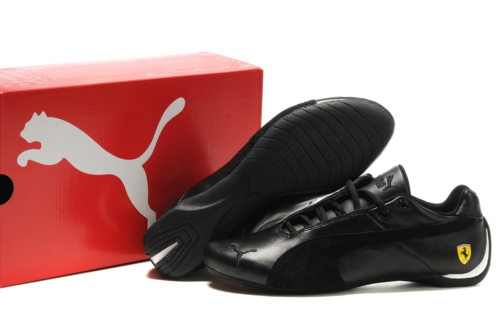 Puma Ferrari Shoes Black 2011