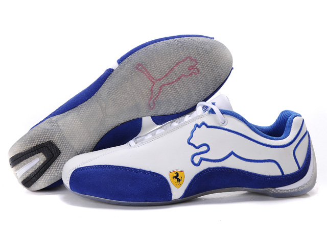 Men's Puma Ferrari Sneakers White/Blue
