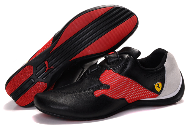 Puma Ferrari Trainers Black/Red