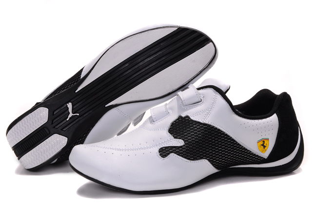Puma Ferrari Trainers White/Black
