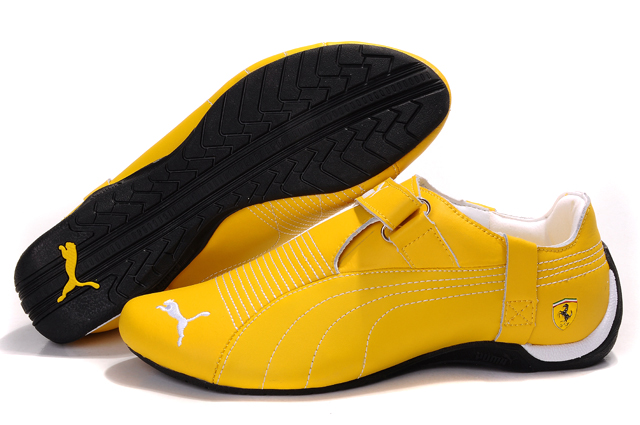 Puma Ferrari Trionfo Shoes Yellow