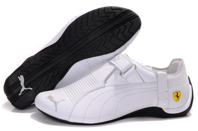 Men's Puma Ferrari Trionfo Shoes White
