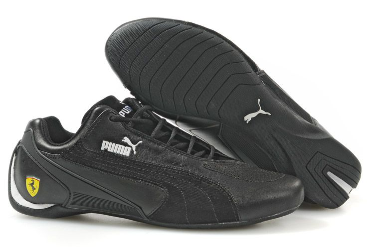 Men's Puma Fluxion GT Shoes Black/White
