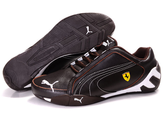 Puma Fluxion Shoes Brown/Black/White