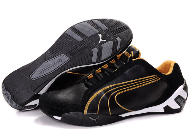 Puma Fluxion Shoes Black/Gold
