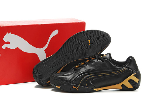 Puma Fluxion ii Shoe Black/Gold